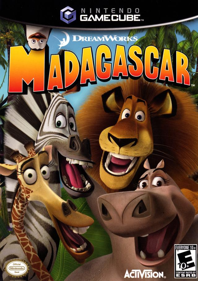 Madagascar - GameCube [USED]