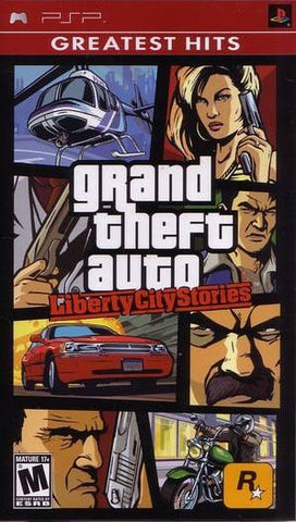 Grand Theft Auto: Liberty City Stories (Greatest Hits) - PSP