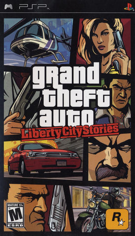 Grand Theft Auto: Liberty City Stories - PSP