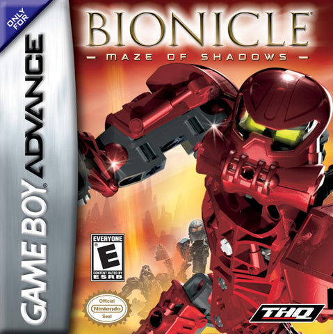 Bionicle: Maze of Shadows - Game Boy Advance [USED]