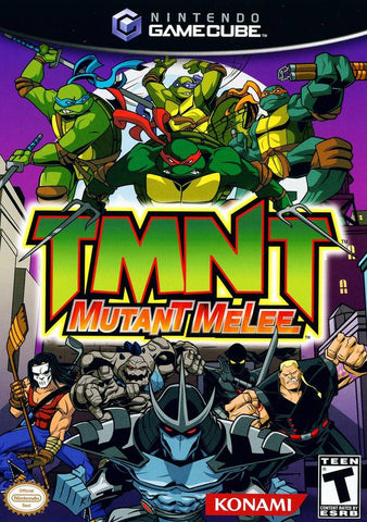 TMNT: Mutant Melee - GameCube [USED]