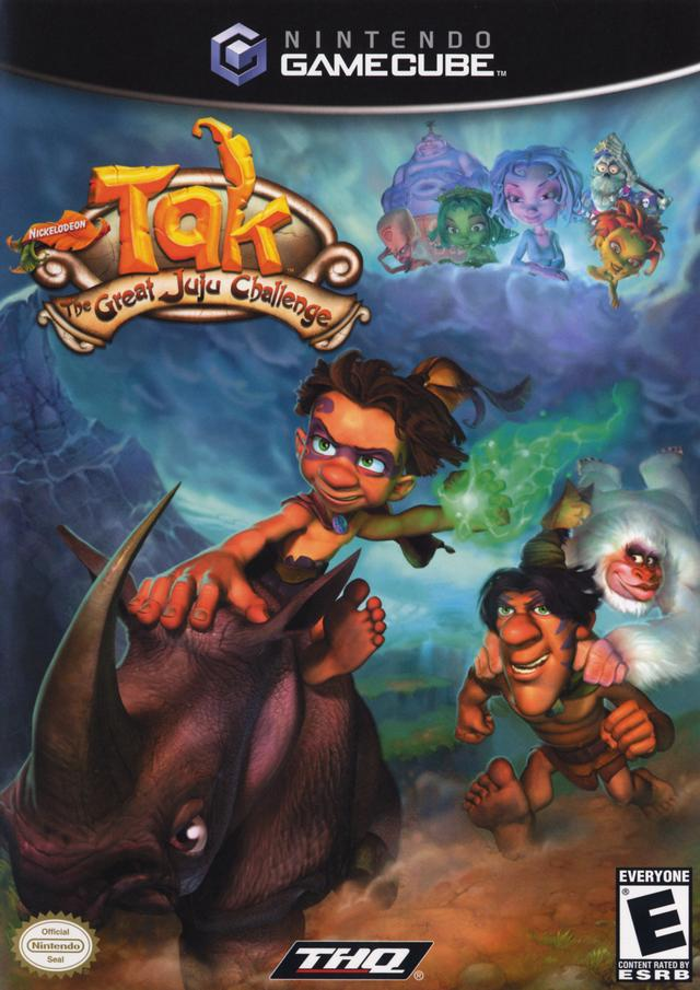 Tak: The Great Juju Challenge - GameCube [USED]
