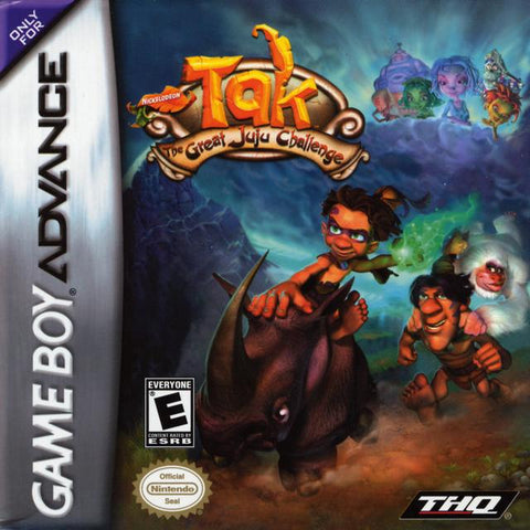 Tak: The Great Juju Challenge - Game Boy Advance [USED]