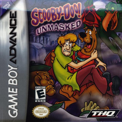 Scooby-Doo! Unmasked - Game Boy Advance [USED]