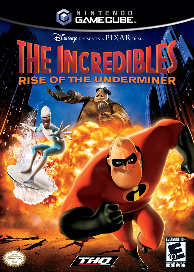 The Incredibles: Rise of the Underminer - GameCube [USED]