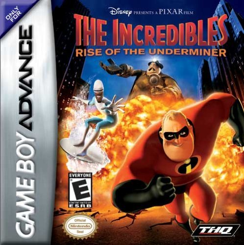 The Incredibles: Rise of the Underminer - Game Boy Advance