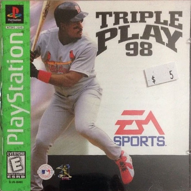 Triple Play 98 (Greatest Hits) - PlayStation