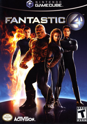 Fantastic 4 - GameCube [USED]
