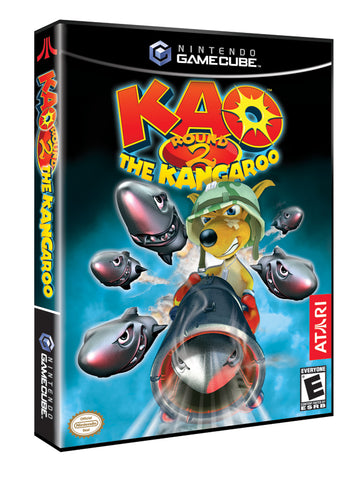 Kao the Kangaroo Round 2 - GameCube [USED]