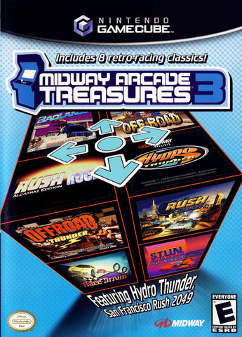 Midway Arcade Treasures 3 - GameCube [NEW]