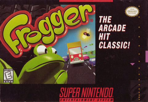 Frogger - Super Nintendo [USED]