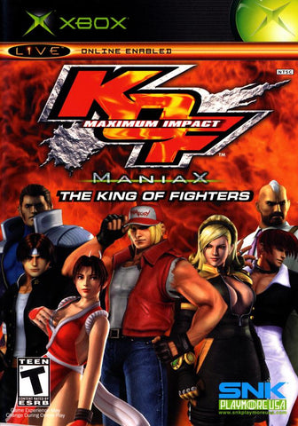The King of Fighters: Maximum Impact - Maniax - Xbox