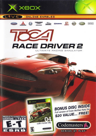 TOCA Race Driver 2 with Colin McRae Rally 04 - Xbox