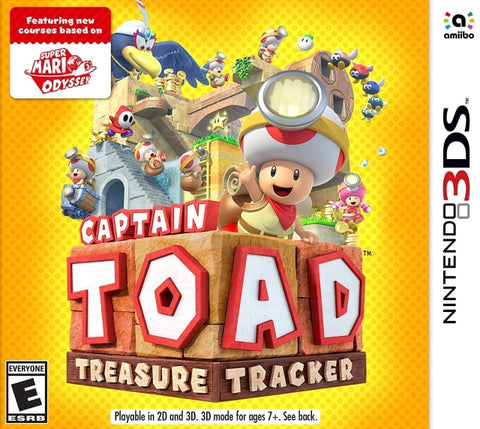 Captain Toad: Treasure Tracker - Nintendo 3DS [NEW]