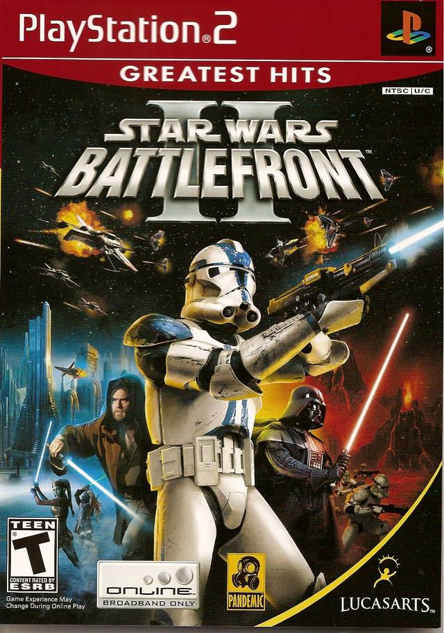 Star Wars: Battlefront II (Greatest Hits) - PlayStation 2