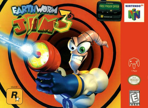 Earthworm Jim 3D - Nintendo 64 [USED]
