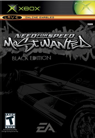 Need for Speed Most Wanted (Black Edition) - Xbox
