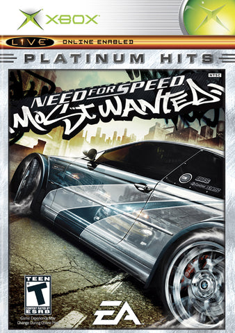 Need for Speed Most Wanted (Platinum Hits) - Xbox