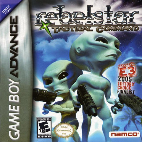 Rebelstar: Tactical Command - Game Boy Advance [USED]