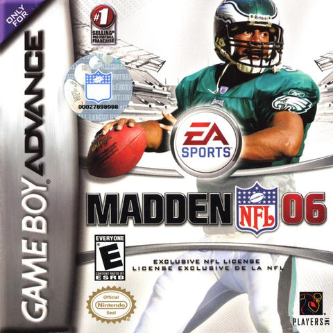 Madden NFL 06 - Game Boy Advance [USED]