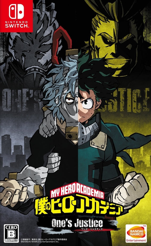 My Hero Academia One's Justice - Nintendo Switch (Japan)