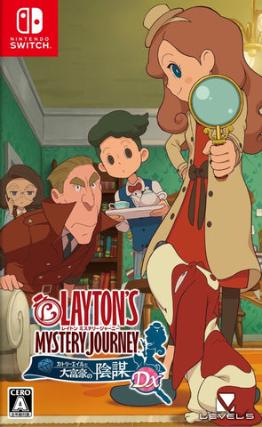 Layton's Mystery Journey: Katrielle to Daifugou no Inbou DX - Nintendo Switch (Japan)