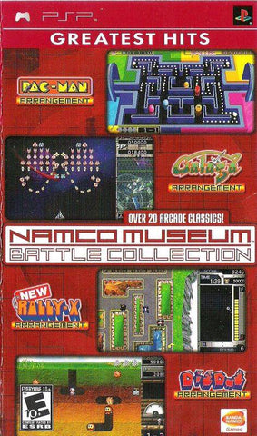 Namco Museum Battle Collection (Greatest Hits) - PSP
