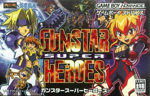 Gunstar Super Heroes - Game Boy Advance (V-Shooter, 2005, JP )