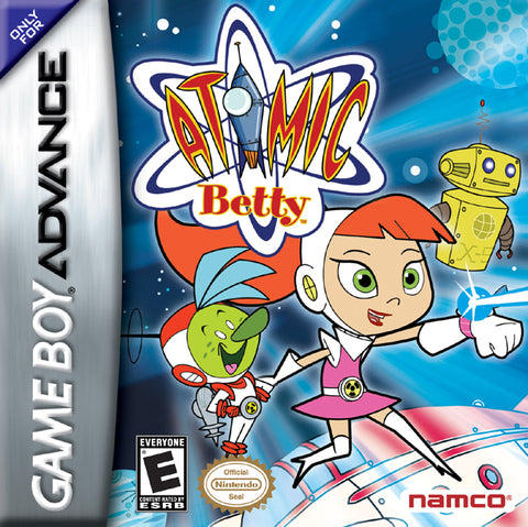 Atomic Betty - Game Boy Advance (ACT, 2005, US )