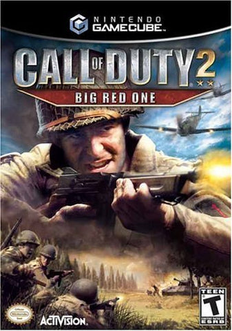 Call of Duty 2: Big Red One - GameCube [USED]
