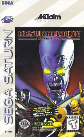 Resurrection: Rise 2 - SEGA Saturn [USED]