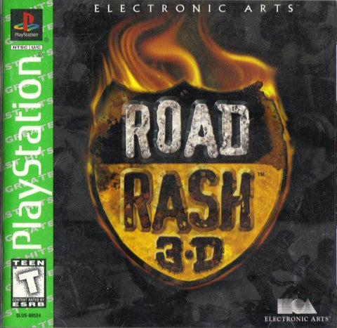 Road Rash 3D (Greatest Hits) - PlayStation