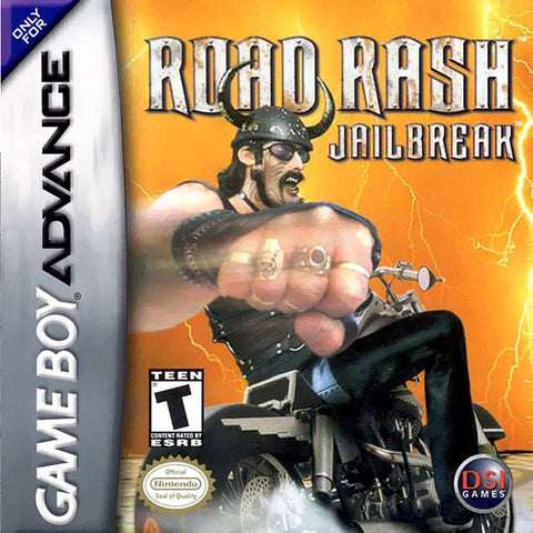 Road Rash: Jailbreak - Game Boy Advance [NEW]