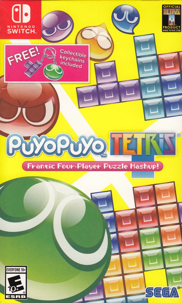 Puyo Puyo Tetris (with Keychains) - Nintendo Switch