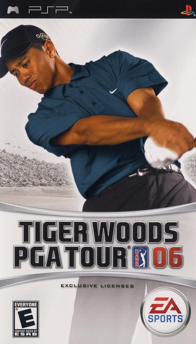 Tiger Woods PGA Tour 06 - PSP