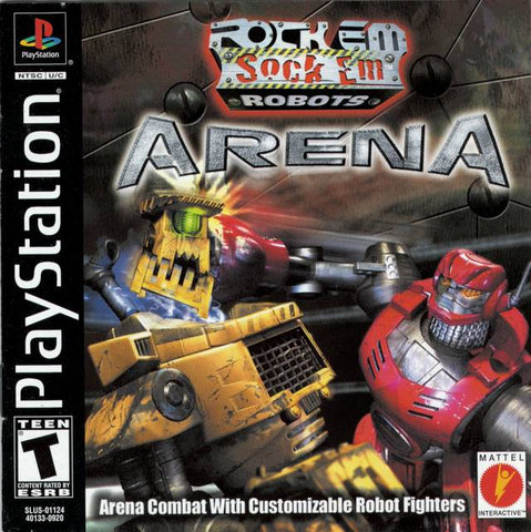 Rock 'Em Sock 'Em Robots Arena - PlayStation