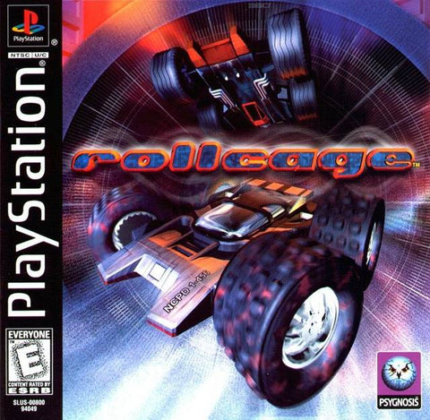 Rollcage - PlayStation