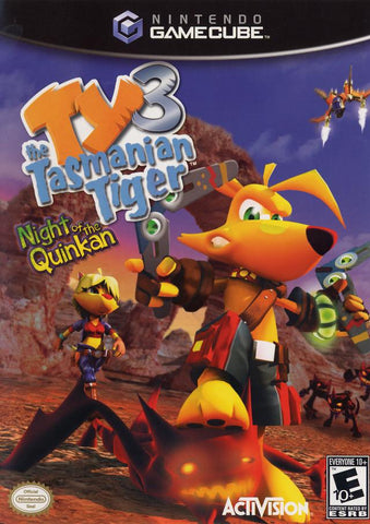 Ty the Tasmanian Tiger 3: Night of the Quinkan - GameCube [USED]