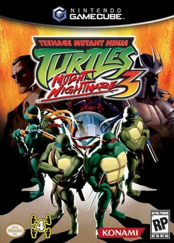 Teenage Mutant Ninja Turtles 3: Mutant Nightmare - GameCube [USED]