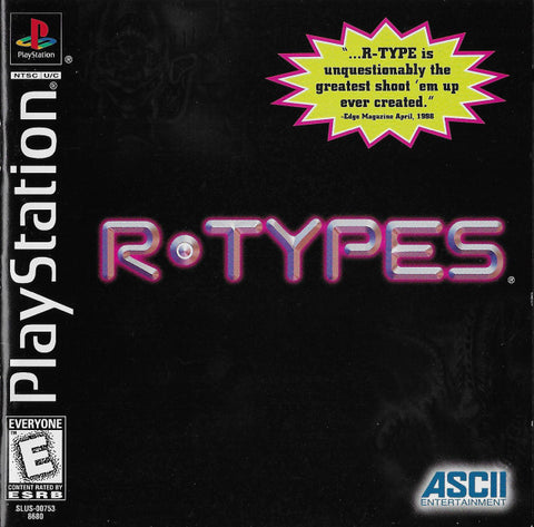 R-Types - PlayStation