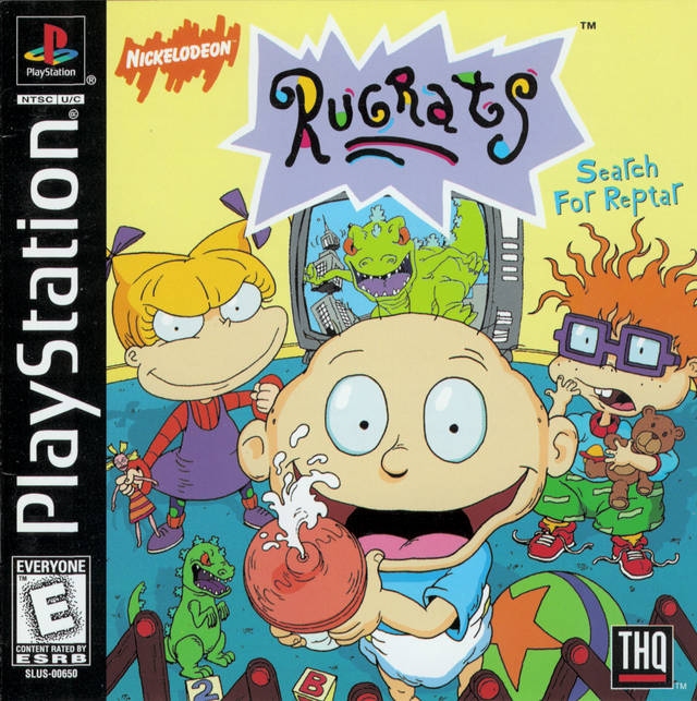 Rugrats: Search for Reptar - PlayStation
