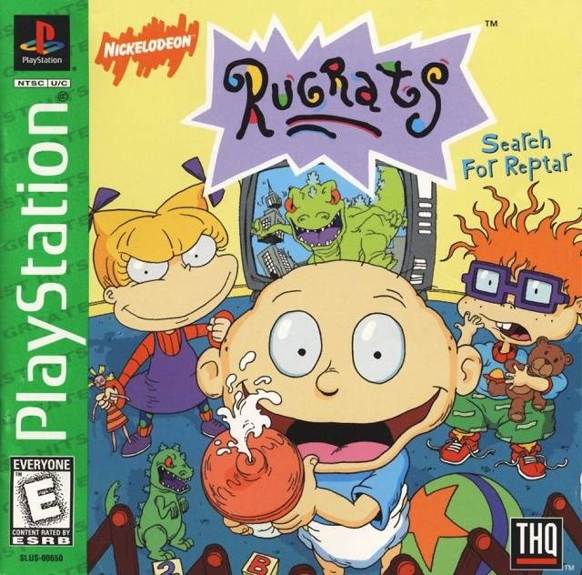 Rugrats: Search for Reptar (Greatest Hits) - PlayStation