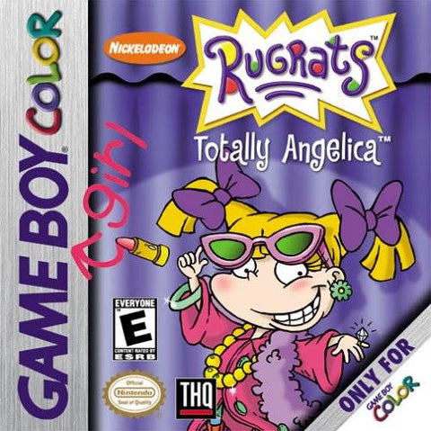 Rugrats: Totally Angelica - Game Boy Color [NEW]