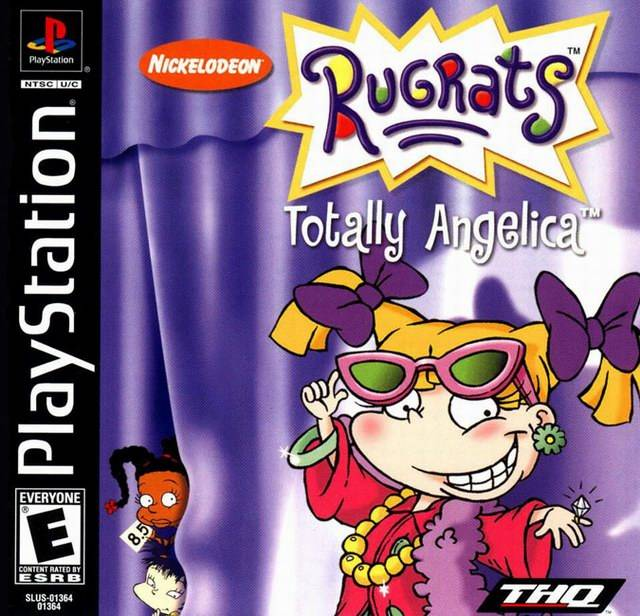 Rugrats: Totally Angelica - PlayStation