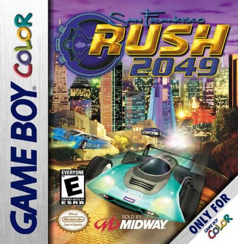 San Francisco Rush 2049 - Game Boy Color [USED]