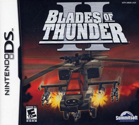 Blades of Thunder II - Nintendo DS