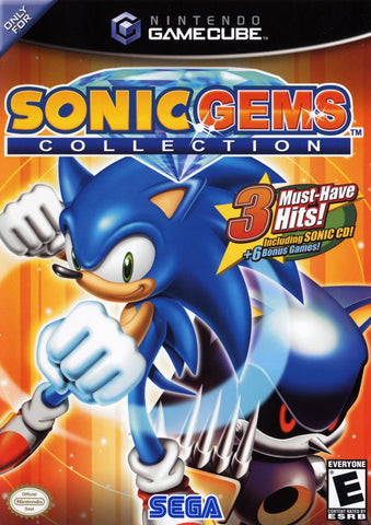 Sonic Gems Collection - GameCube [USED]