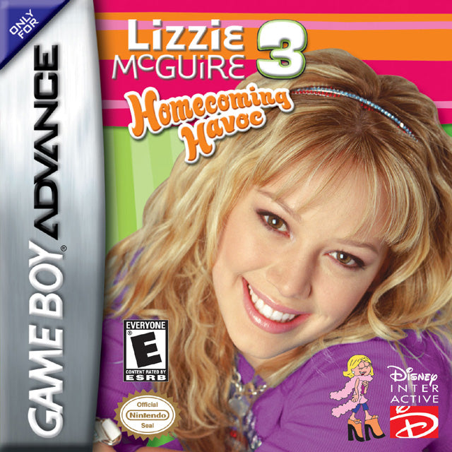 Lizzie McGuire 3: Homecoming Havoc - Game Boy Advance