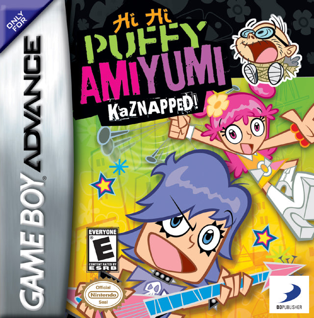 Hi Hi Puffy AmiYumi: Kaznapped! - Game Boy Advance