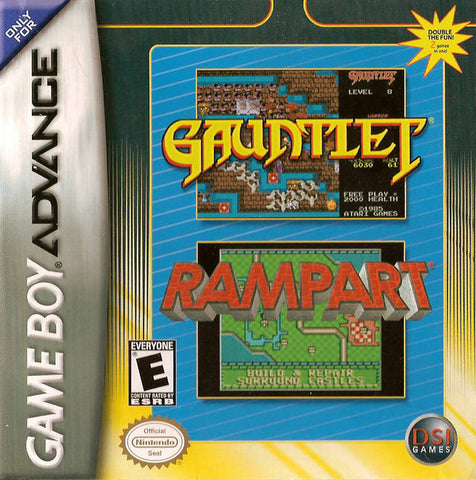 Gauntlet / Rampart - Game Boy Advance [USED]